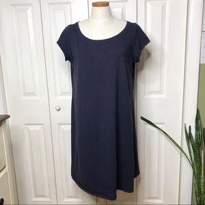 Eileen Fisher organic cotton T-shirt swing dress